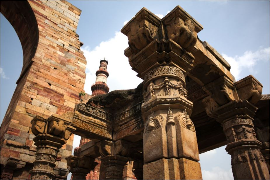 Image result for history of qutub minar